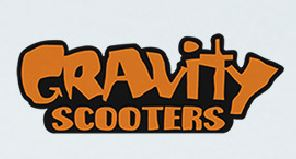 Gravity scooters
